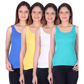 Zoldy cotton Tanks Top combo of Four