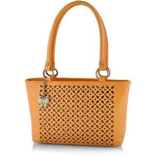 Butterflies Women ( Mustard ) Shoulder Bag BNS 0539LMSD
