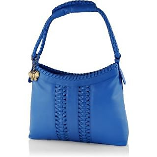 Butterflies Women ( Blue ) Handbag BNS 0535BL