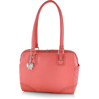 Butterflies Women ( Peach ) Handbag BNS 0554DPCH