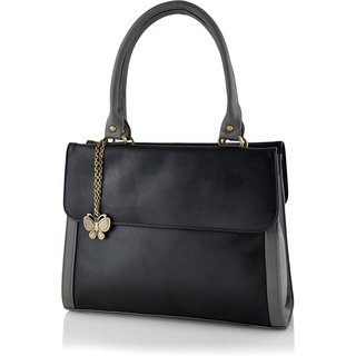 Butterflies Women ( Black ) Handbag BNS 0569BK