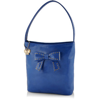 Butterflies Women ( Blue ) Handbag BNS 0581BL