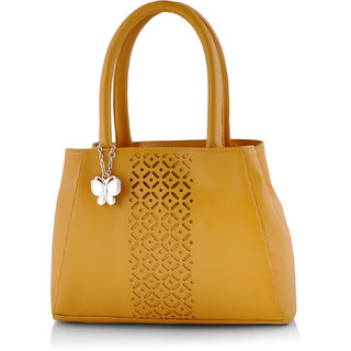 Butterflies Women ( Mustared ) Handbag BNS 0586MSD