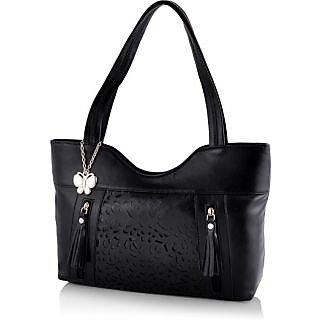 18561d64c23f 74%off Butterflies Women ( Black ) Handbag BNS 0588BK