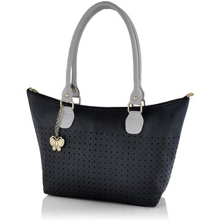 Butterflies Women ( Black ) Handbag BNS 0591BK
