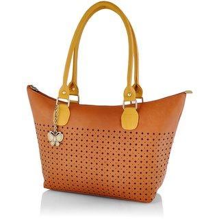 Butterflies Women ( Tan ) Handbag BNS 0591TN