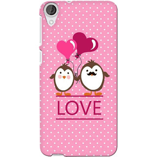 G.store Printed Back Covers for Htc Desire 820 Pink