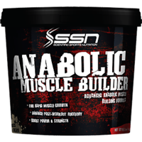 SSN Anabolic Muscle Builder 11Lbs Vanilla With Free Shaker