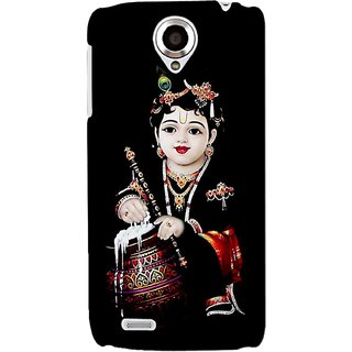 G.store Printed Back Covers for Lenovo S820 Black