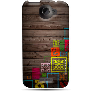 G.store Printed Back Covers for HTC One X Plus Multi