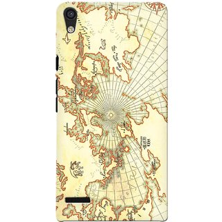 G.store Printed Back Covers for Huawei Ascend P6 Multi