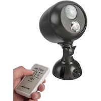 MrBeams MB371 Motion Sensing Led Outdoor Security Spotlight With Remote