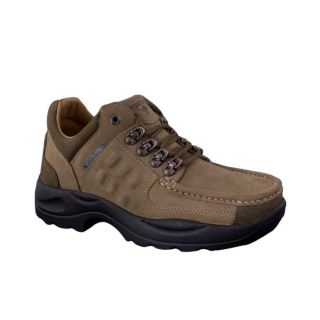 Woodland Sturdy Khaki Brown Casual Shoes