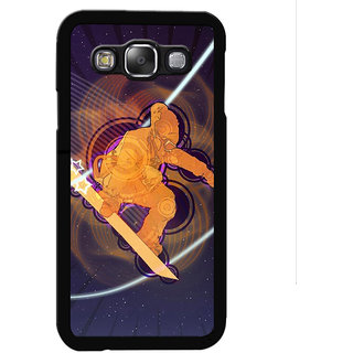 Instyler Digital Printed Back Cover For Samsung Galaxy E5 SGE5DS-10443