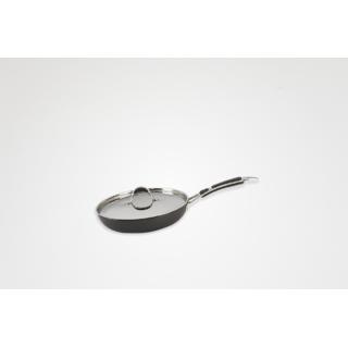 Alda Hard Anodised Fry Pan with Lid 24cm