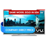 "Vu 84XT900 84"" ULTRA HD LED TV"