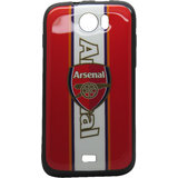 Snooky Red & White Soft Back Cover For Micromax Canvas2 A110 Td9201