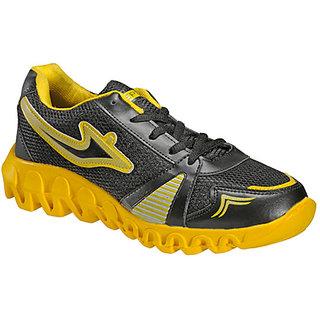 Yepme Bound Sports Shoes- Black & Yellow