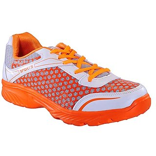 Yepme Groove Sports Shoes - White & Orange