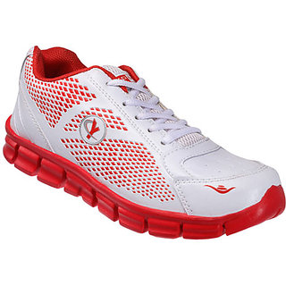 Yepme Tranquil Sports Shoes - White & Red