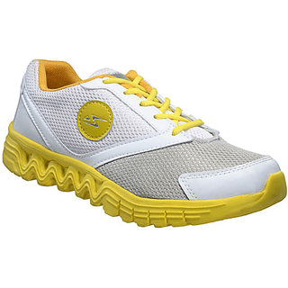 Yepme Milestone Sports Shoes- White & Yellow