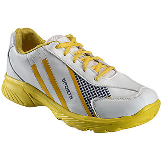 Yepme Galvanize Sports Shoes - White & Yellow