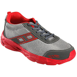 Yepme Regnant Sports Shoes - Grey & Red