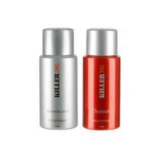 Exclusive Deal - Killer Deodorant Combo For Men Pack of 2