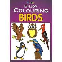 My Book Coloring Birds Book