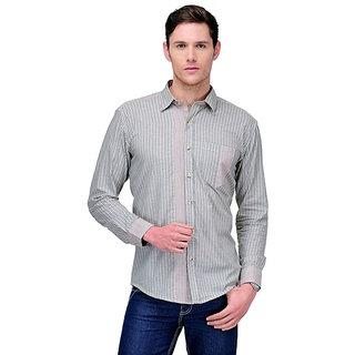 Yepme Roger Stripes Shirt - Grey