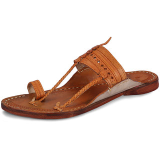 Kolhapuri Men Kl-03 Brown Ethnic