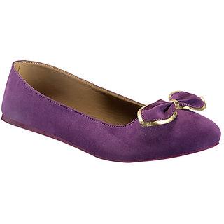 Yepme Women's Stylish Purple Bellies - Option 3