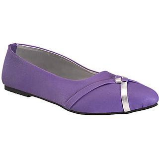 Yepme Women's Stylish Purple Bellies - Option 4