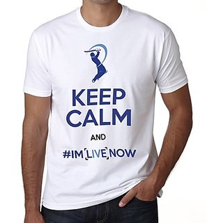 Demokrazy Mumbai Indians Live Men's IPL Fan T Shirt