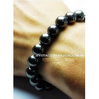 Hematite Bracelet 8MM  - Healing Stone, Reiki, Crystal Therapy