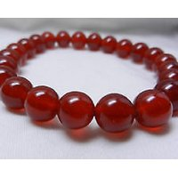 Carnelian Stone Bracelet 8MM  Regenerates And Gives More  Vitality Joy