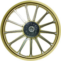 Original Parado Golden Glossy Alloy Wheels for Bullet ( Classic)