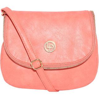 Lino Perros Pink Sling Bag LWSL00213PINK