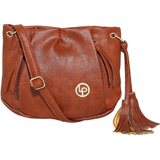 Lino Perros Brown Sling Bag LWSL00216BROWN