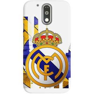 The Fappy Store Real Madrid Graphic Back Covers