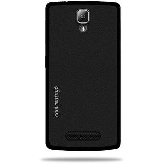 Cool Mango Back Cover for Lenovo A1000(Sparkling Black)