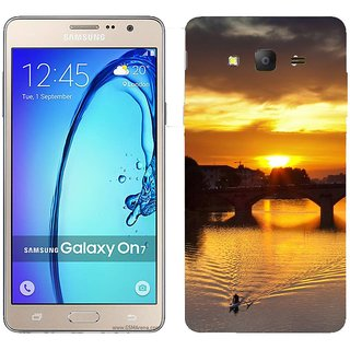 Samsung Galaxy On 7 Design Back Cover Case