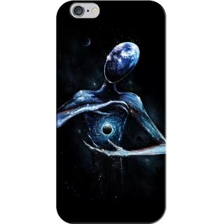 G.store Printed Back Covers for Apple iPhone 6 Plus Black