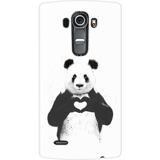 G.store Printed Back Covers for LG G4 White