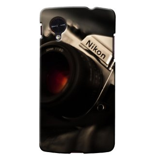 G.store Printed Back Covers for LG Google Nexus 5 Black