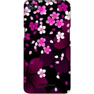 G.store Printed Back Covers for Micromax Canvas Hue 2 A316 Pink