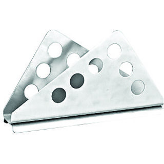 Mintage Napkin Holder Silver Stainless Steel