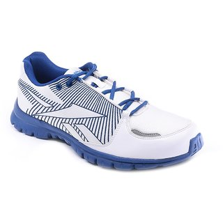 8d75318a6867 ... Reebok White and Blue Running Sports Shoes ...