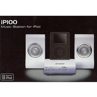 KODA-iP100-iPOD-MP3-Docking-Music-Station