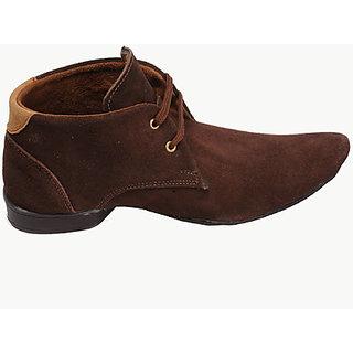 Canopus Men Dark Brown Fancy Shoes